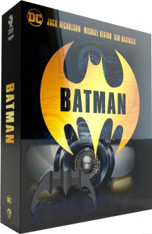 Batman (1989) de Tim Burton - Édition Titans of Cult - SteelBook – Packshot Blu-ray 4K Ultra HD