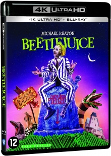 Beetlejuice (1988) de Tim Burton – Packshot Blu-ray 4K Ultra HD