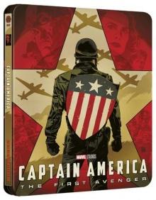 Captain America : The First Avenger - Édition Steelbook Mondo – Packshot Blu-ray 4K Ultra HD