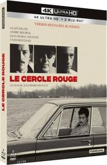 Le Cercle rouge (1970) de Jean-Pierre Melville - Packshot Blu-ray 4K Ultra HD