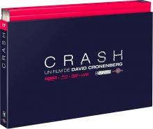 Crash - Coffret Ultra Collector 17 - 4K Ultra HD + Blu-ray + DVD + Livre – Packshot Blu-ray 4K Ultra HD