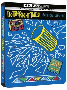Do the Right Thing (1989) de Spike Lee – Packshot Blu-ray 4K Ultra HD