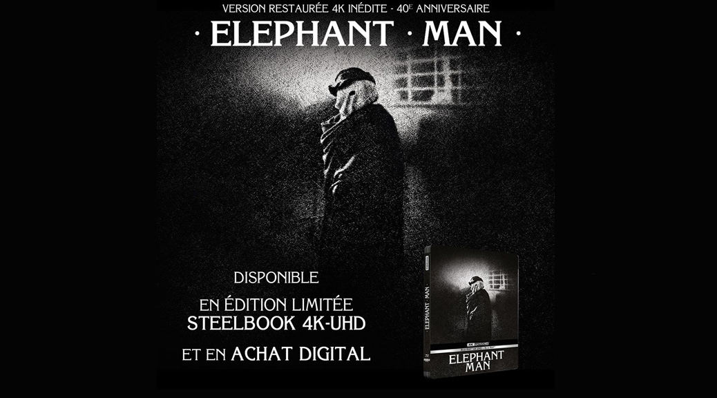 Elephant Man - Image une test Blu-ray