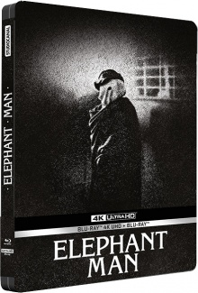Elephant Man - Jaquette Blu-ray