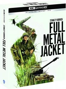 Full Metal Jacket (1987) de Stanley Kubrick - Édition collector - 4K Ultra HD + Blu-ray + DVD + Livret