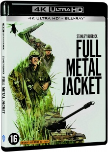 Full Metal Jacket (1987) de Stanley Kubrick – Packshot Blu-ray 4K Ultra HD