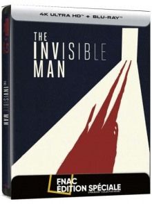 Invisible Man (2020) de Leigh Whannell - Steelbook Édition Spéciale Fnac – Packshot Blu-ray 4K Ultra HD