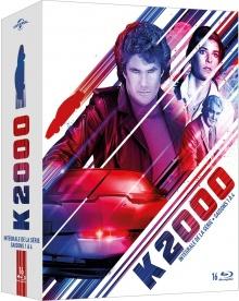 K2000 - L'intégrale - Packshot Blu-ray