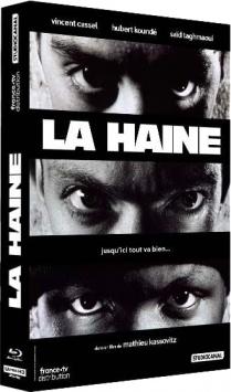 La Haine (1995) de Mathieu Kassovitz - Édition Collector - Packshot Blu-ray 4K Ultra HD
