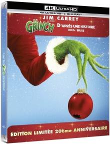 Le Grinch (2000) de Ron Howard - Édition Steelbook - Packshot Blu-ray 4K Ultra HD