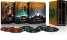 Le Hobbit : La trilogie - Boîtiers SteelBook - Packshot Blu-ray 4K Ultra HD