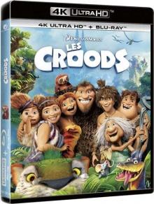 Les Croods (2013) de Chris Sanders et Kirk DeMicco - Packshot Blu-ray 4K Ultra HD