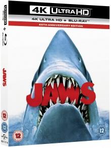Les Dents de la mer (1975) de Steven Spielberg – Édition 45e anniversaire Packshot Blu-ray 4K Ultra HD