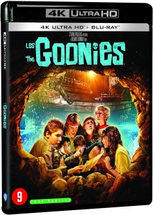 Les Goonies (1985) de Richard Donner – Packshot Blu-ray 4K Ultra HD