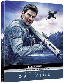 Oblivion (2013) de Joseph Kosinski - Édition Steelbook – Packshot Blu-ray 4K Ultra HD