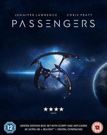 Passengers (2016) de Morten Tyldum - Limited Edition Boxset – Packshot Blu-ray 4K Ultra HD