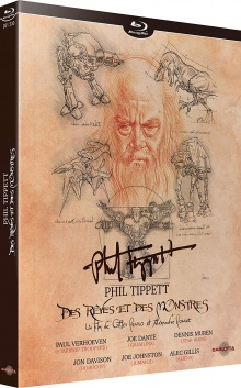 Phil Tippett : Des Rêves et des Monstres - Packshot Blu-ray