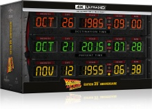 Retour vers le futur : Trilogie - Coffret Circuits Temporels / Cassette VHS - SteelBook – Packshot Blu-ray 4K Ultra HD