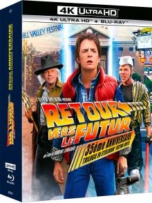 Retour vers le futur : Trilogie - Coffret SteelBook - Packshot Blu-ray 4K Ultra HD