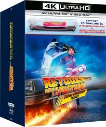 Retour vers le futur : Trilogie - Coffret Ultra collector Hoverboard numéroté - Steelbook – Packshot Blu-ray 4K Ultra HD