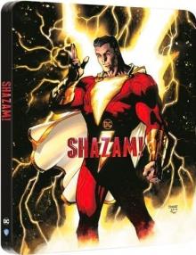 Shazam! (2019) de David F. Sandberg - Édition Comic Steelbook - Packshot Blu-ray 4K Ultra HD