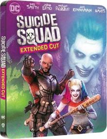 Suicide Squad (2016) de David Ayer - Édition Comic Steelbook - Packshot Blu-ray 4K Ultra HD