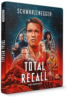 Total Recall (1990) de Paul Verhoeven - Édition Steelbook - Packshot Blu-ray 4K Ultra HD