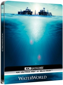 Waterworld (1995) de Kevin Reynolds - Édition Steelbook – Packshot Blu-ray 4K Ultra HD