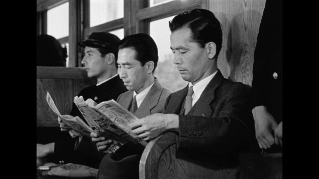 Été précoce - Capture Blu-ray Japonais