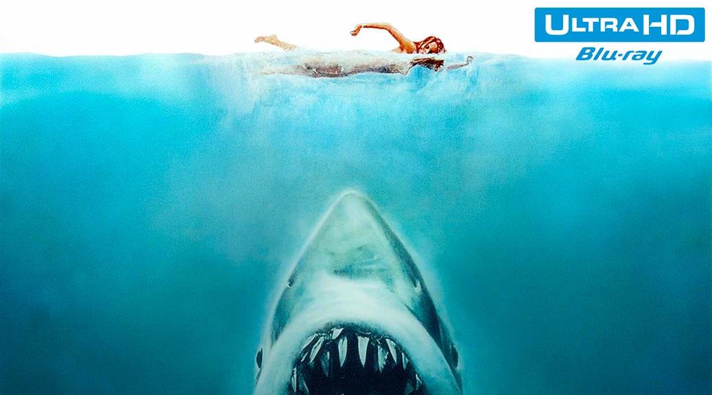 Les Dents de la mer (1975) de Steven Spielberg – Blu-ray 4K Ultra HD