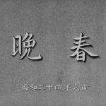 Printemps tardif - Capture Blu-ray