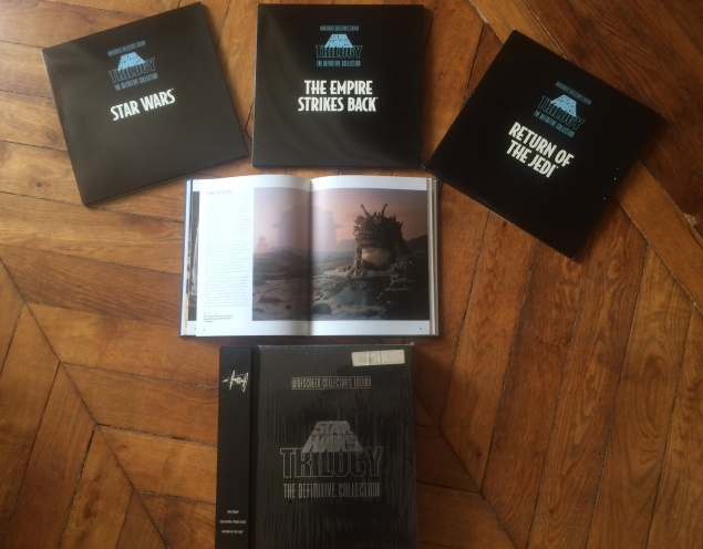 Star Wars - The Definive Collection Laserdisc