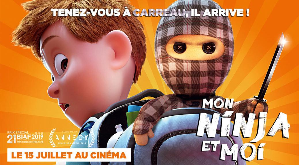 Mon Ninja et moi - Image Une fiche film