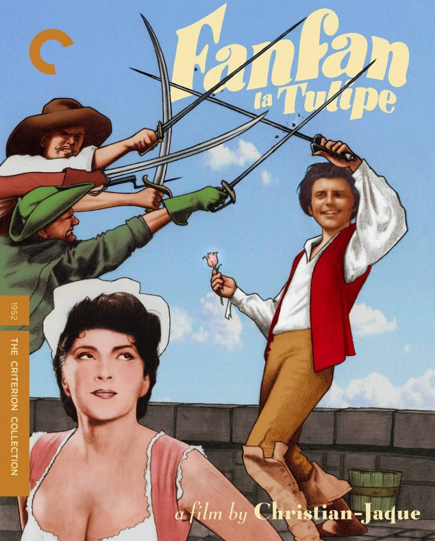Fanfan la Tulipe - Jaquette DVD Criterion