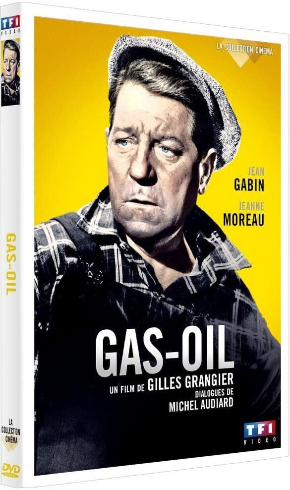 Gas-Oil - Jaquette DVD