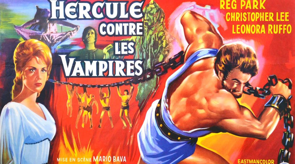 Hercule contre les vampires - Image une test Blu-ray