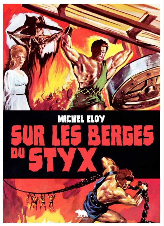 Hercule contre les vampires - 1ère de couv livret Sur les berges du Styx