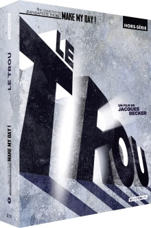 Le Trou (1960) de Jacques Becker - Édition Digipack 2 Blu-ray + Livre – Packshot Blu-ray