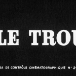Le Trou - Capture Blu-ray