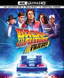 Retour vers le futur : Trilogie – Packshot Blu-ray 4K Ultra HD