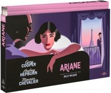 Ariane (1957) de Billy Wilder - Coffret Ultra Collector 18 - Blu-ray + DVD + Livre – Packshot Blu-ray