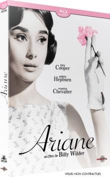 Ariane (1957) de Billy Wilder – Packshot Blu-ray