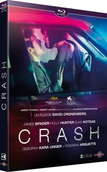 Crash (1996) de David Cronenberg – Packshot Blu-ray