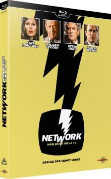 Network, main basse sur la TV (1976) de Sidney Lumet – Packshot Blu-ray