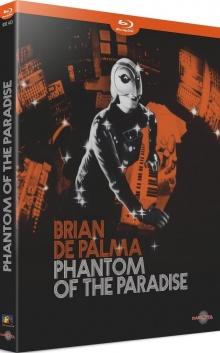 Phantom of the Paradise (1974) de Brian De Palma – Packshot Blu-ray