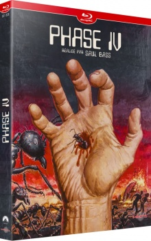 Phase IV (1974) de Saul Bass – Packshot Blu-ray