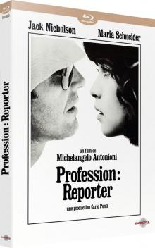 Profession : reporter (1975) de Michelangelo Antonioni – Packshot Blu-ray