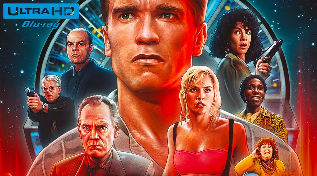 Total Recall (1990) de Paul Verhoeven – Blu-ray 4K Ultra HD