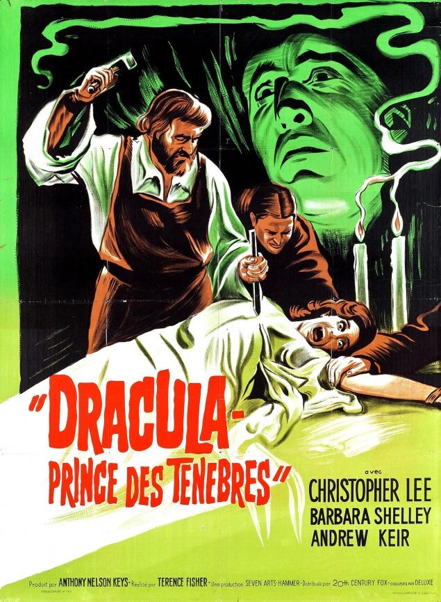 Barbara Shelley - Affiche Dracula, prince des ténèbres