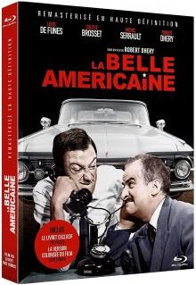 La Belle Américaine (1961) de Robert Dhéry – Édition Collector Blu-ray + DVD + Livret - Packshot Blu-ray